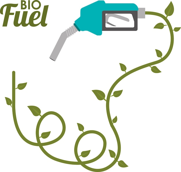 Green energy design Premium Vector