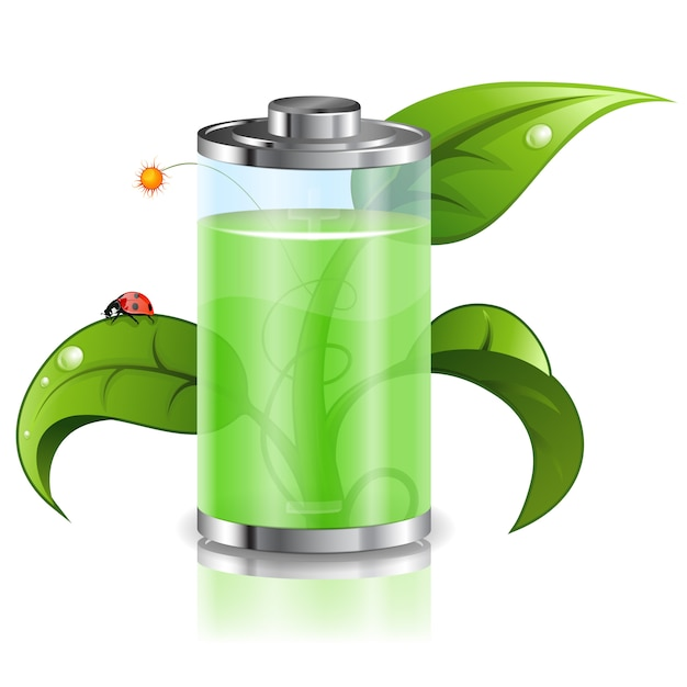 Green energy Premium Vector