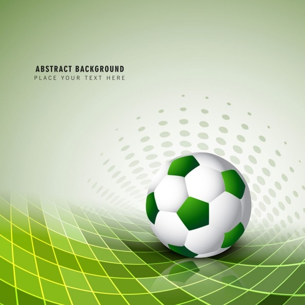 Green football background vector free download Free eps editor