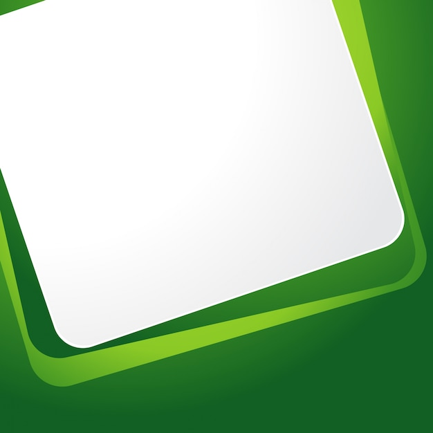 Green Frame Background Vector Free Download