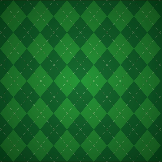 Green geometric background, patricks day colors Free Vector
