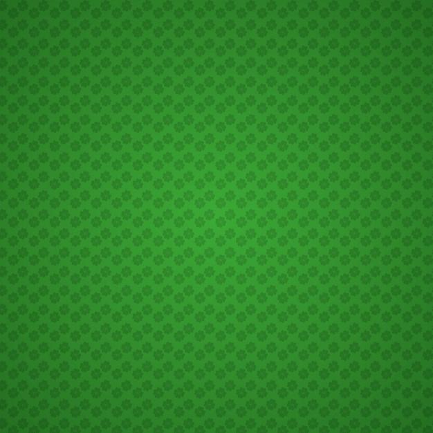 緑の幾何学的な背景、パトリックの日の色 無料ベクター