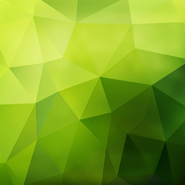 Green Geometric Background Free Vector