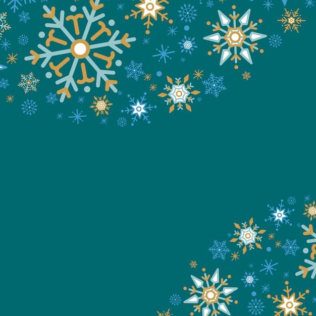 Зеленый фон дизайн праздничного дизайна Бесплатные векторы