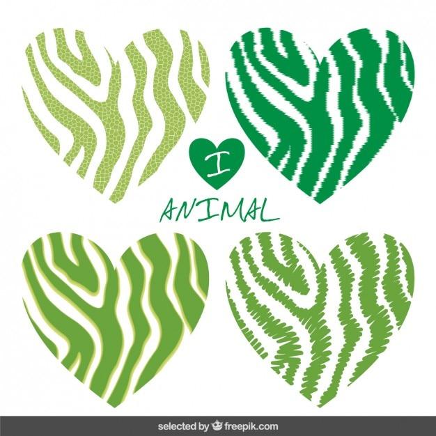 Green leopard print vector - photo#8