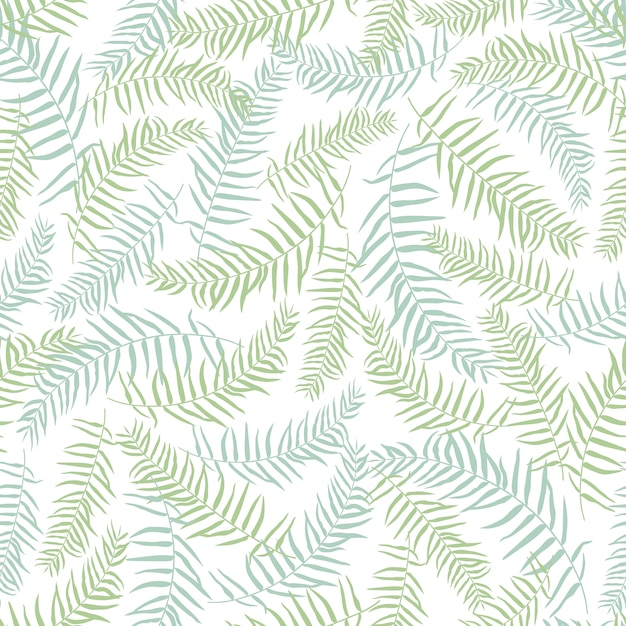 Green Leaves Pattern Background Vector Free Download Impressive Green Pattern Background