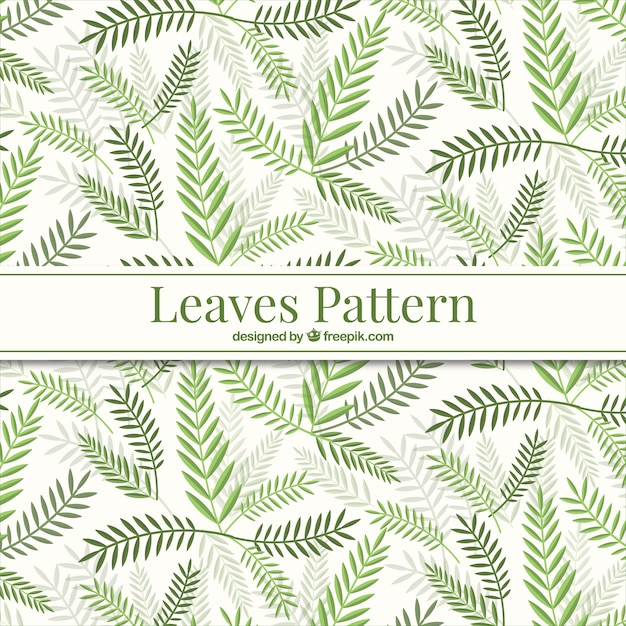 Green Leaves Pattern Vector Free Download Magnificent Green Pattern