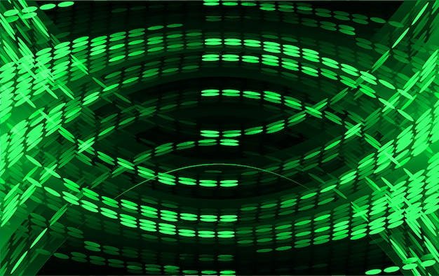 Green light abstract background Premium Vector
