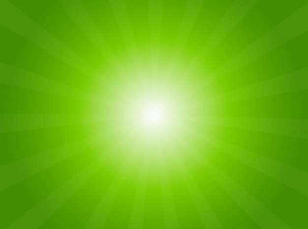 Green Light Radial Background Vector Free Download