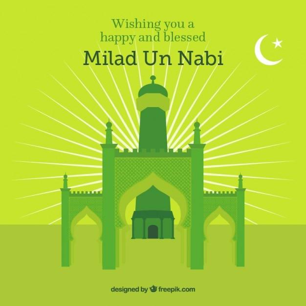Green mosque background for milad un nabi vector free download green mosque background for milad un nabi free vector m4hsunfo