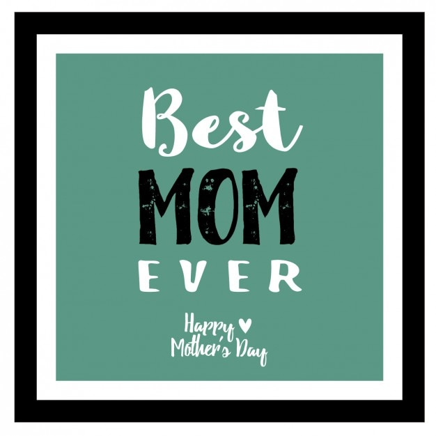 Green mother\'s day background