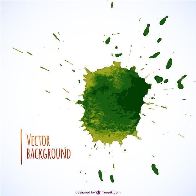 Green paint splash Vector   Free Download