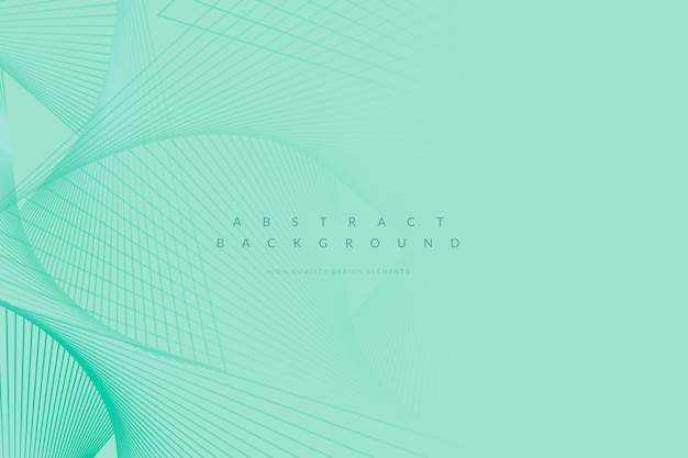Green patterned background Free Vector