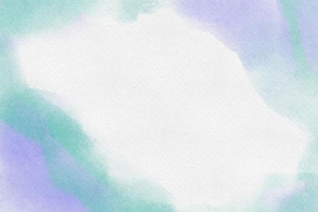 Sfondo acquerello verde e viola Vettore gratuito