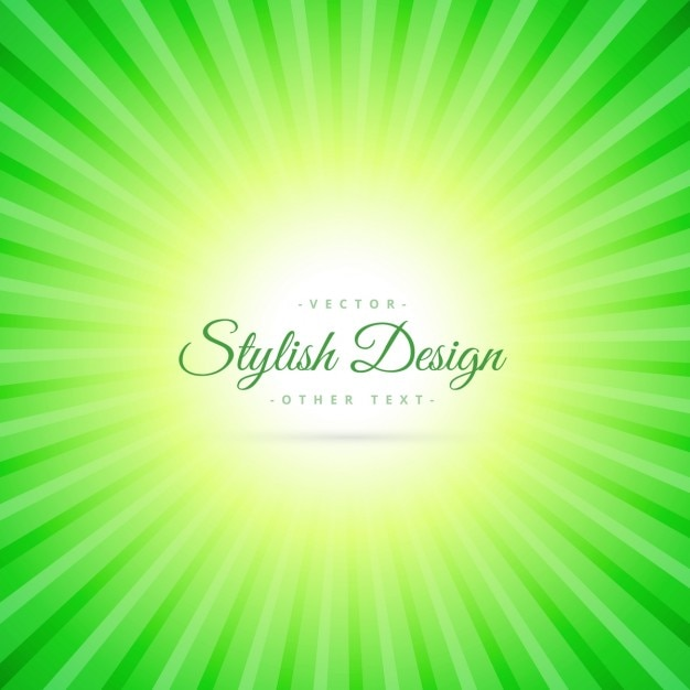green sunburst background - photo #43