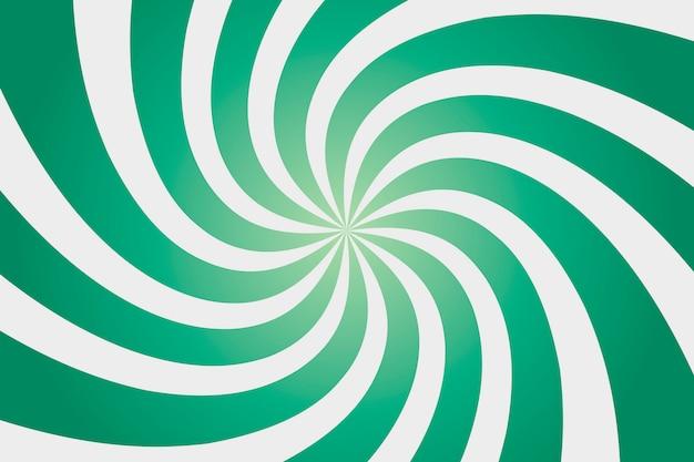 緑のサンシャインのカラフルな背景。 Premiumベクター