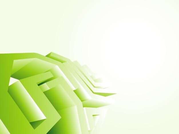 Green Technology Wallpaper Design Free Vector