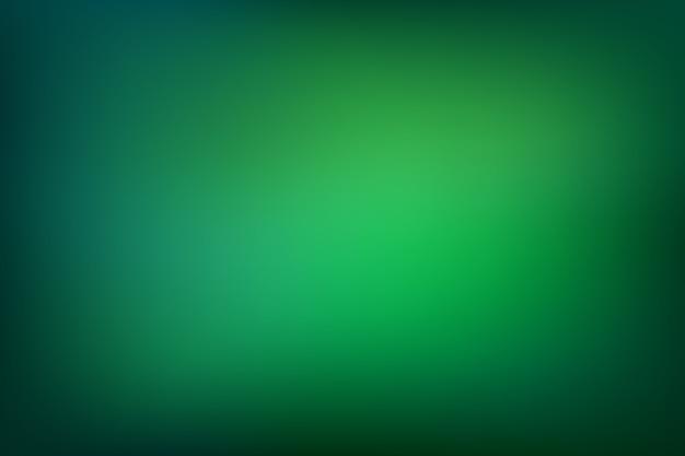 Зеленые тона градиента фона Premium векторы