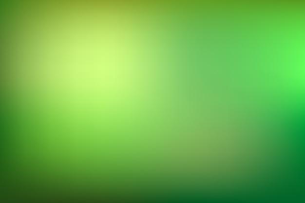 Green tones gradient background Free Vector
