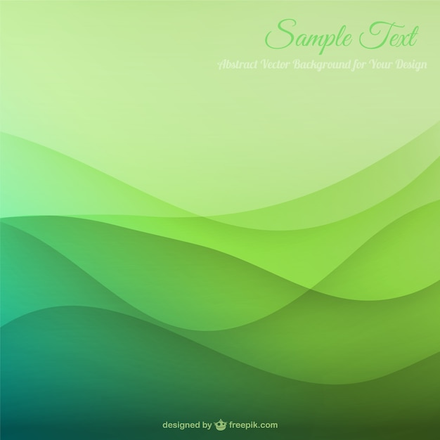 wavy green background vector - photo #5
