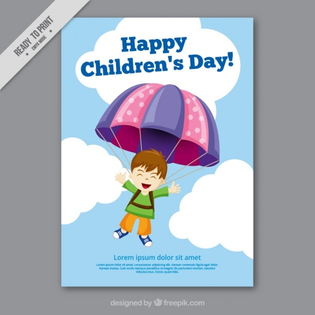 Greeting card childrens day vector free download greeting card childrens day free vector m4hsunfo