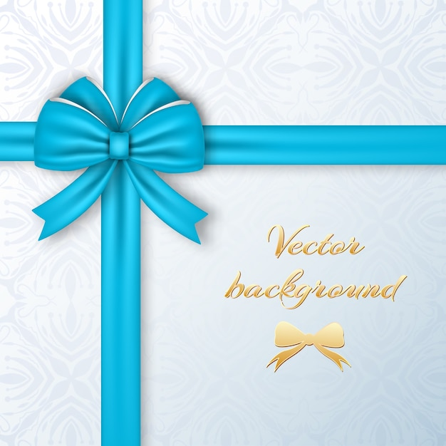 Greeting present card template Free Vector
