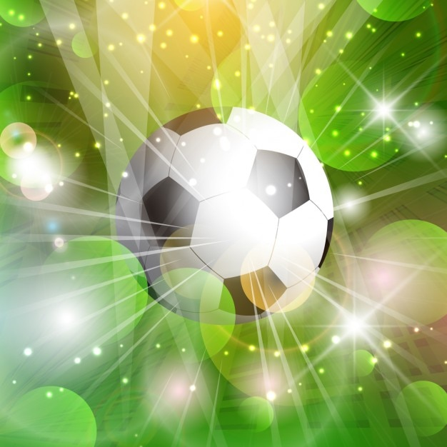 Gren Abstract Football Background