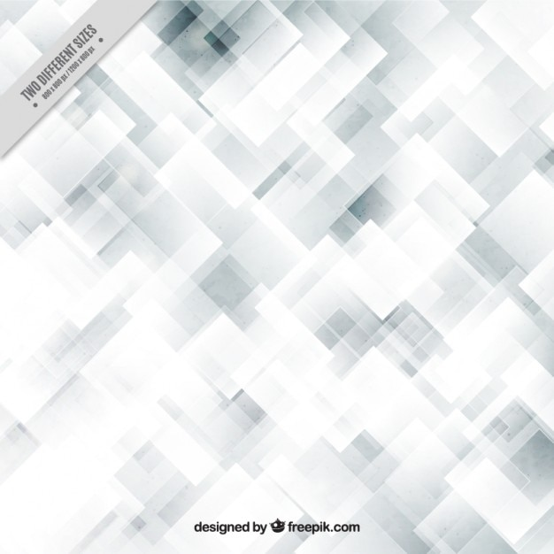 grey and white background with abstract squares vector