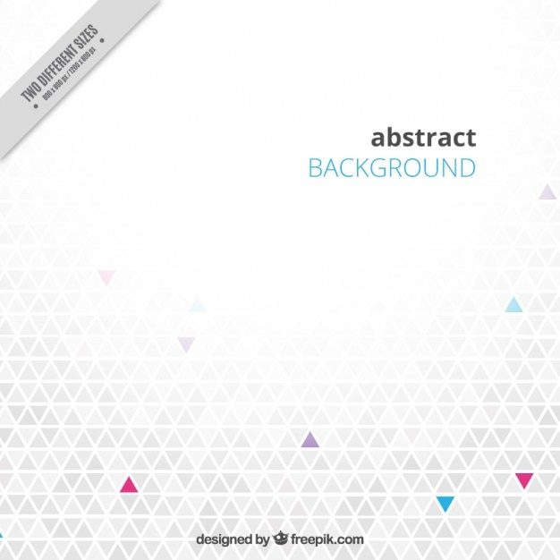 Grey background with triangles Free Vector