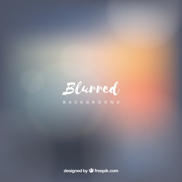 Grey blurred background Free Vector