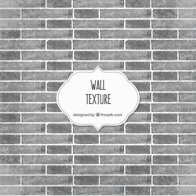 Grey brick wall texture Vector | Premium Download