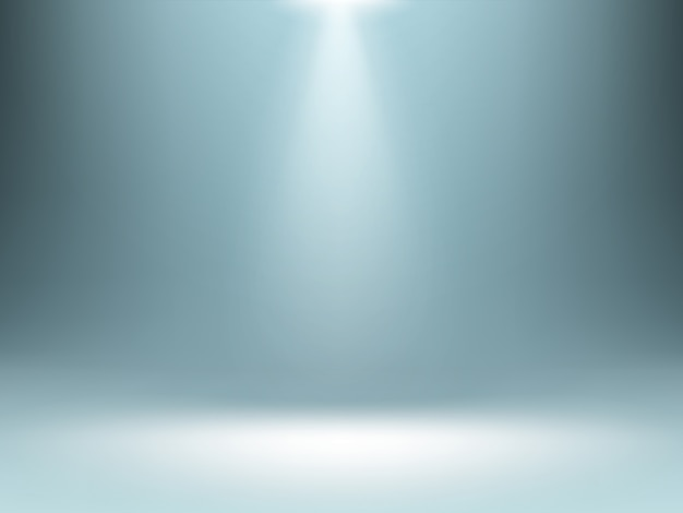 Grey gradient background, spotlights illumination Free Vector