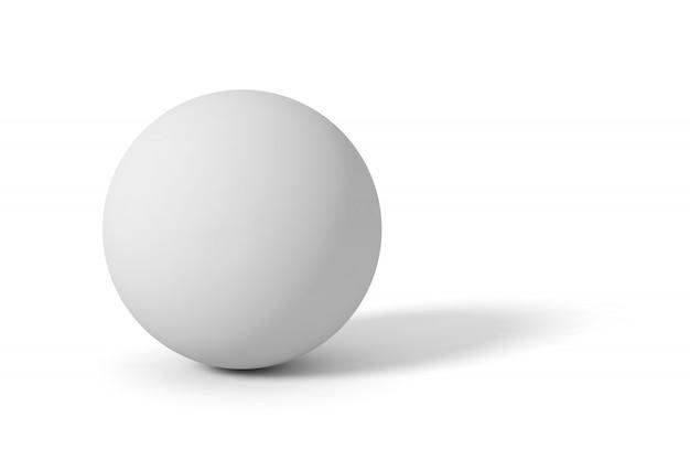 Серый матовый шар Premium векторы