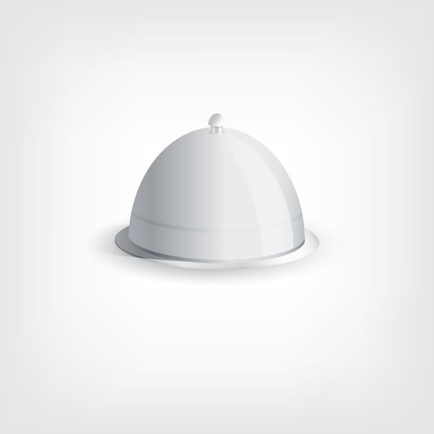 Серый поднос стильная концепция Premium векторы