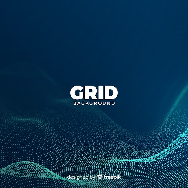 Grid background Free Vector