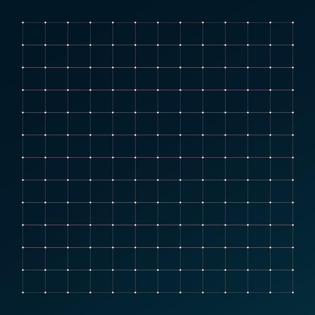 Grid for futuristic hud interface. Premium Vector