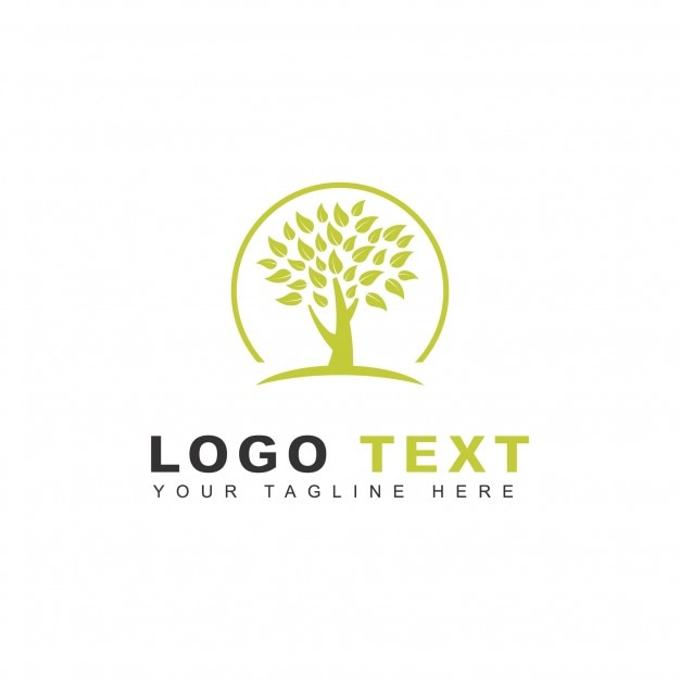 Growth logo Free Vector