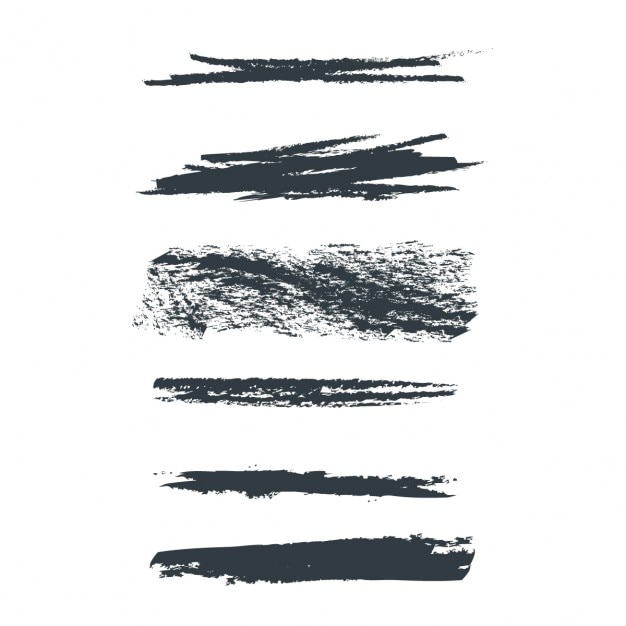 Grunge collection Free Vector