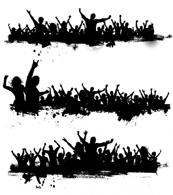Free Images Black And White People Crowd Statue: Crowd Vectors, Photos And PSD Files