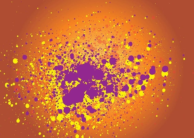 Grunge explosion vector Free Vector