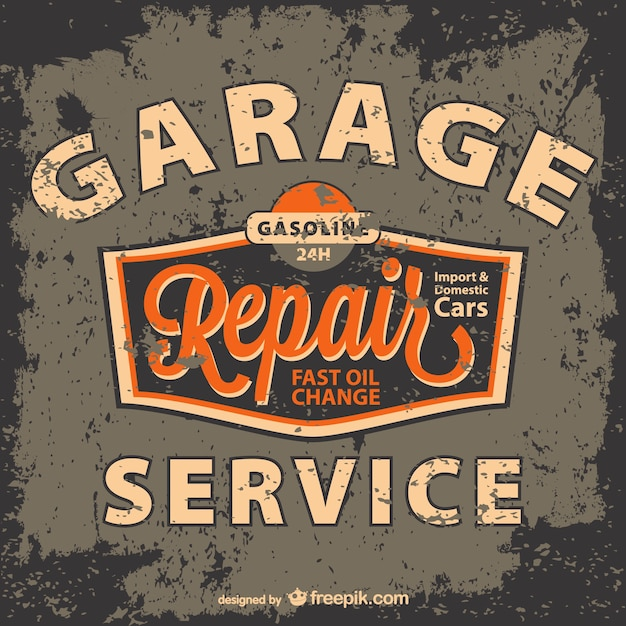vintage garage logo vectors photos and psd files free