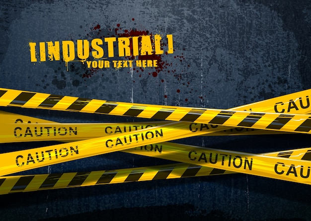 Grunge industrial background Free Vector