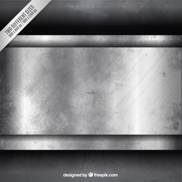 Grunge metallic background Free Vector