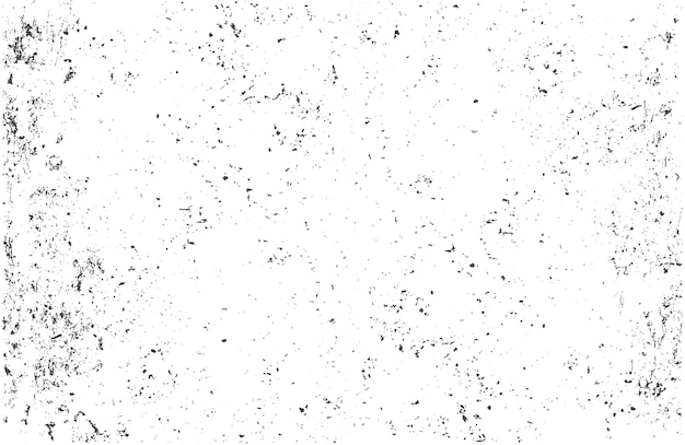 Grunge monochrome abstract vector textured background Premium Vector