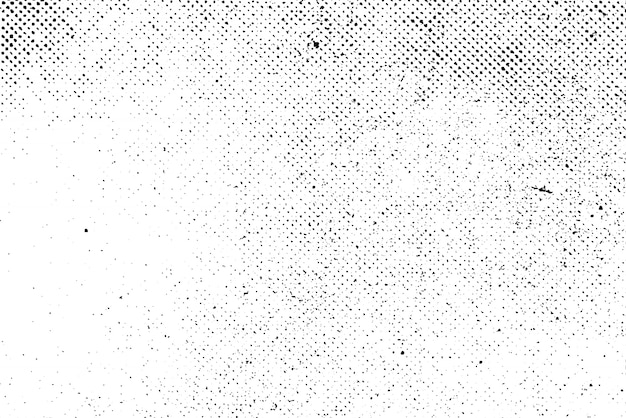 Grunge real organic vintage halftone vector ink print background Premium Vector