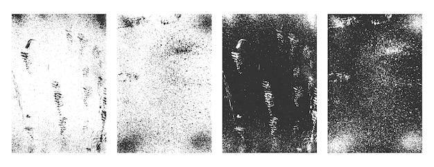 Гранж прямоугольные абстрактные рамки грязные текстуры фона Бесплатные векторы