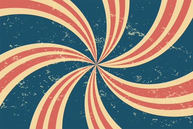 Grunge retro spiral background Free Vector
