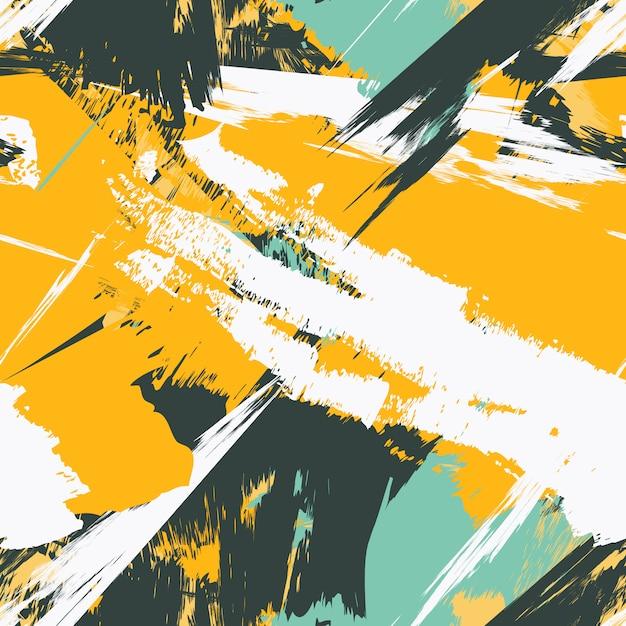 Grunge seamless texture pattern for print Premium Vector