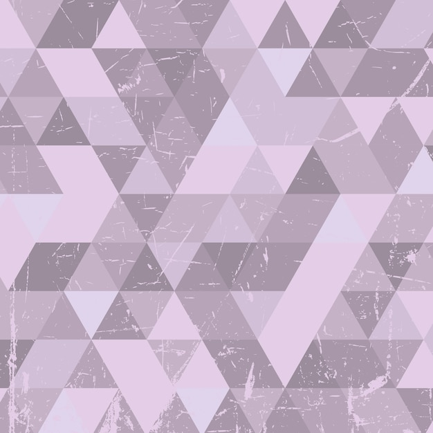 Grunge style background with low poly design Free Vector