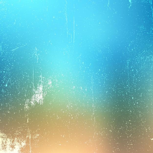 Grunge texture on pastel gradient background Free Vector